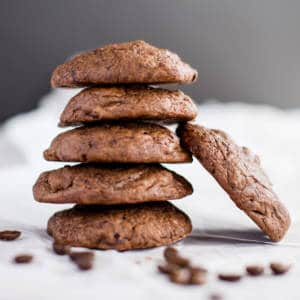 Java Sweets Coffee Flavored Cookies Dark Chocolate Espresso Cookie